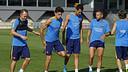 Los jugadores han conocido la lista de convocados para viajar a Florencia / MIGUEL RUIZ - FCB
