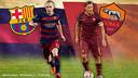 Duel de capitaines entre Iniesta et Totti / FCB