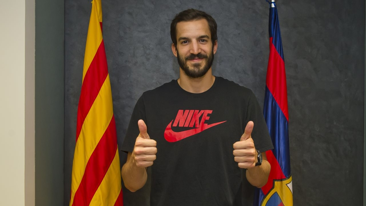 The Catalan-born player Pau Ribas is going to be playing for his home town team. / FCB