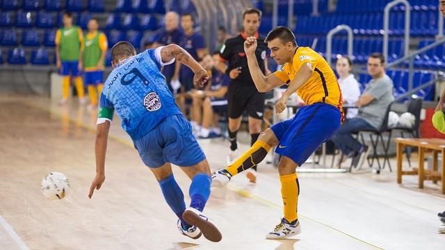 Els blaugranes s'imposen en el primer partit de la pretemporada