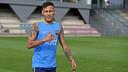 Neymar Jr, durant l'entrenament d'aquest divendres / MIGUEL RUIZ-FCB