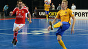 Beteria controls the ball against Benfica on Saturday night. / PEDRO CRUZ