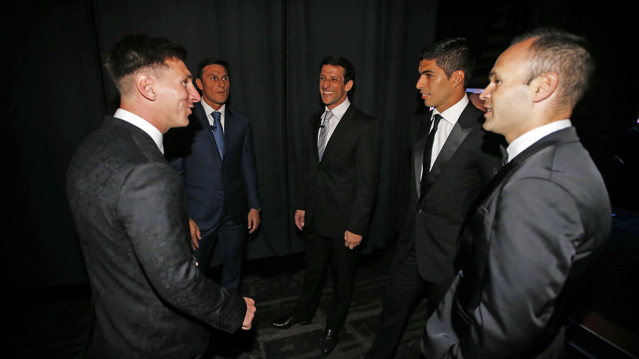 The other side of the gala in Monaco  / MIGUEL RUIZ - FCB