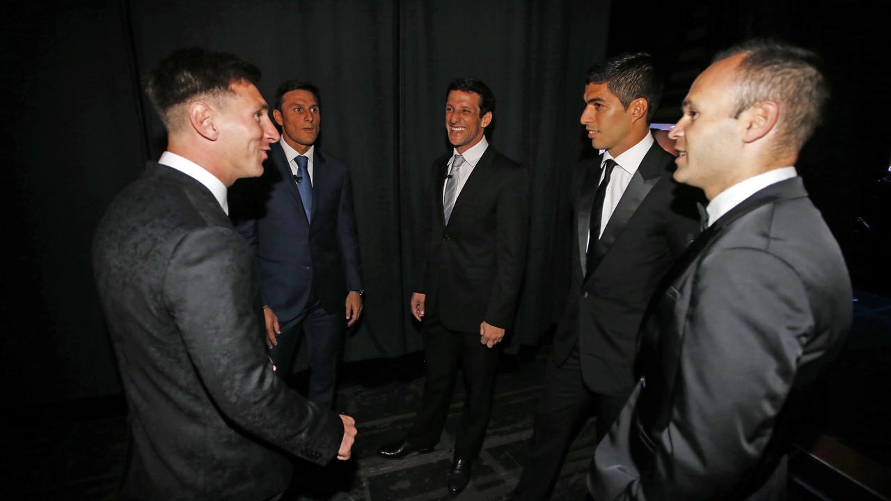L'altra cara de la gala de la UEFA a Mònaco / MIGUEL RUIZ - FCB