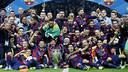 FC Barcelona's rivals in the 2015-16 Champions League edition  / FCB