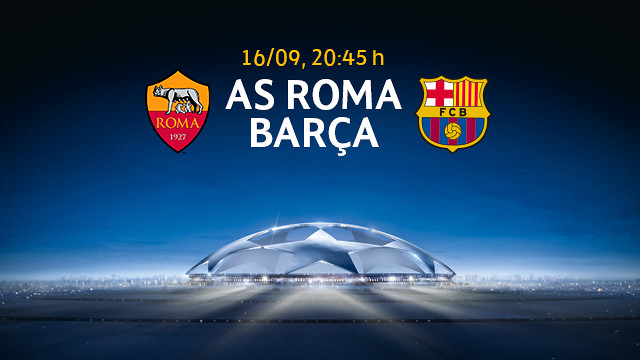 AS Roma - Barça, tickets from September 2