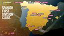 Le Barça se déplacera dans toutes ces villes espagnoles en Liga cette saison / FCB