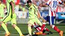Leo Messi on the last Barça visit to the Calderón / MIGUEL RUIZ - FCB