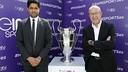 Nasser Al-Khelaïfi et Manel Arroyo / FCB