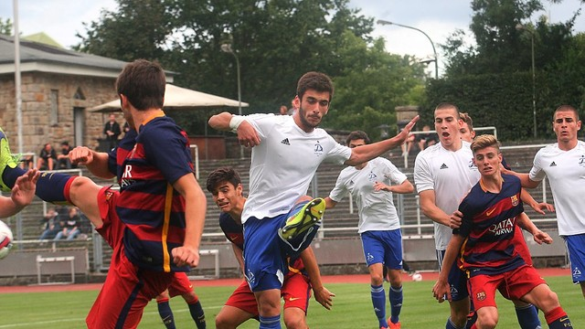 The U19 team are looking to make it two wins out of two / FCB