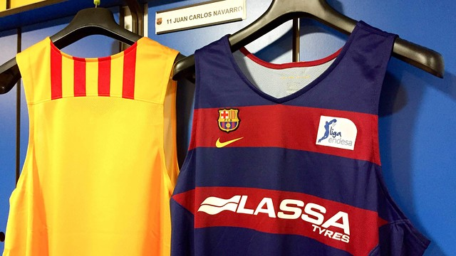 FC Barcelona presents Lassa Tyres as principal sponsor for the sections / FCB