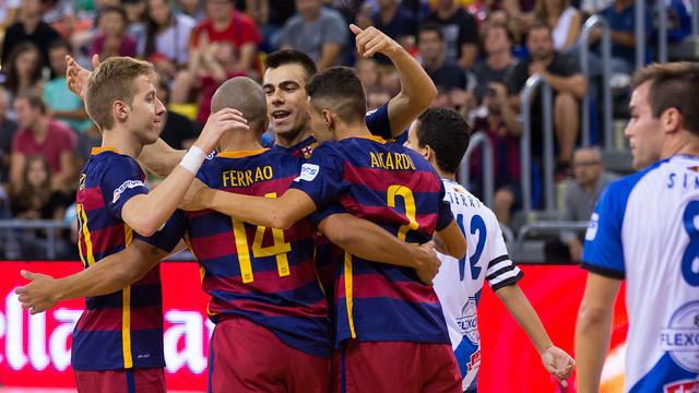 Barça put on attacking masterclass against Jumilla / GERMÁN PARGA - FCB