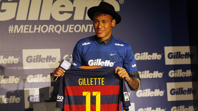 Neymar sigue explotando su imagen y será embajador de Gillette en América Latina