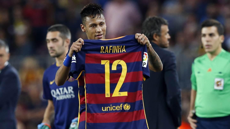 Camiseta FC Barcelona Rafinha