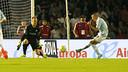Aspas beat Ter Stegen twice on Wednesday evening / MIGUEL RUIZ-FCB