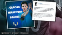 Leo Messi has thanked his fans on social networks / FCB