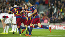 Sergi Roberto equalised for Barcelona / VÍCTOR SALGADO -FCB
