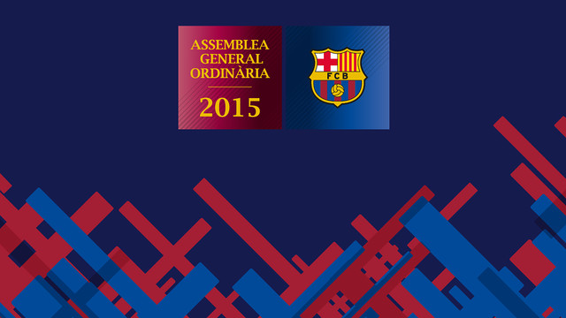 The 2015 Ordinary General Assembly will be held on 25 October. / FCB