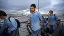 Suárez, de camí cap a Sevilla
