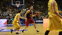 Satoransky in action against Herbalife Gran Canària / ACB PHOTO