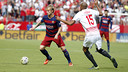 Ivan Rakitic, in Saturday's game at Sevilla / MIGUEL RUIZ-FCB