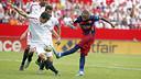 Neymar, contre Seville / MIGUEL RUIZ-FCB