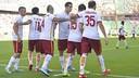 Les joueurs de l'AS Rome / asroma.it