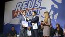 Sergi Roberto fue premiado en Reus como mejor deportista local de la temporada / Xavi Jurio