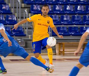 Saad, que no va jugar la Copa del Rei per molèsties, és una de les novetats de l'equip