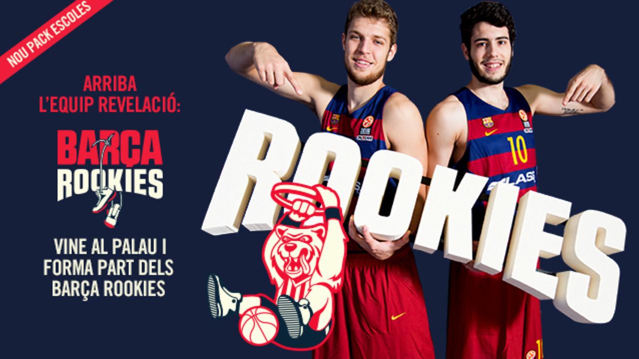 Imatge de la promoció Barça Rookies
