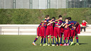 The U14 A team put eight goals past Gimnàstic Manresa / VÍCTOR SALGADO - FCB