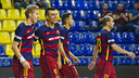 Sergio Lozano after opening the scoring against Magna Gurpea / VÍCTOR SALGADO - FCB