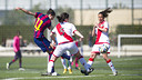 Barça Women in action last season against Rayo / VICTOR SALGADO - FCB