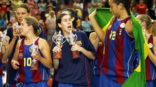 Anna Cruz was at UB Barça from 2002/03 to 2004/05 / FCB