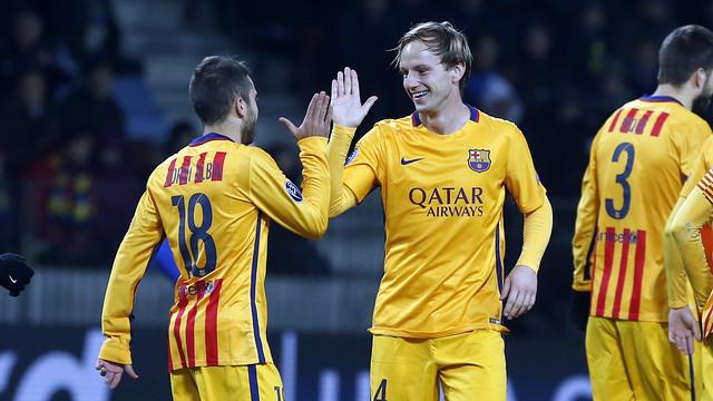 Barcelona ឈ្នះ BATE ២-០ គ្រាដែល Arsenal រកឃើញជ័យជំនះលើកទី១ (Video Inside)
