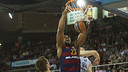 Samardo Samuels, with 23 points and an evaluation of 33, led the way for Barça / VÍCTOR SALGADO - FCB