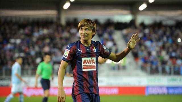 Takashi Inui vient d'enchaîner quatre matches comme titualires avec Eibar