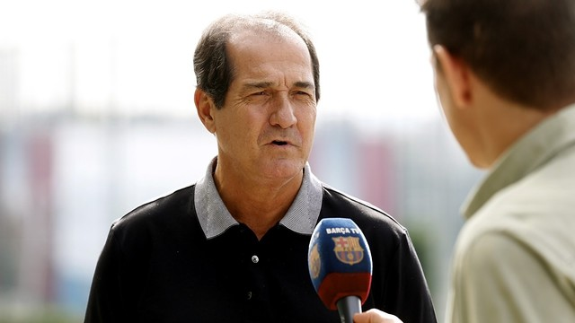 Muricy Ramalho describes how impressed he is with the way FC Barcelona is organised / Miguel Ruiz-FCB