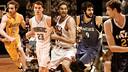 Former blaugranes in the NBA this season