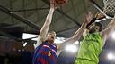 Justin Doellman led the way for Barça on Sunday. / MIGUEL RUIZ - FCB