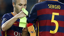 Iniesta takes over as captain from Sergio Busquets / MIGUEL RUIZ - FCB