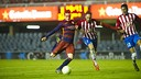 Àlex Carbonell scoring the winner / VICTOR SALGADO-FCB