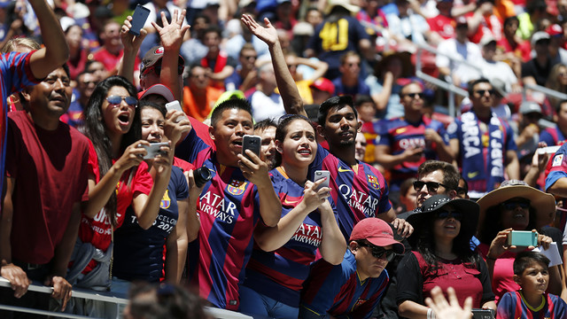 It's going to be a huge week for Barça supporters / MIGUEL RUIZ - FCB