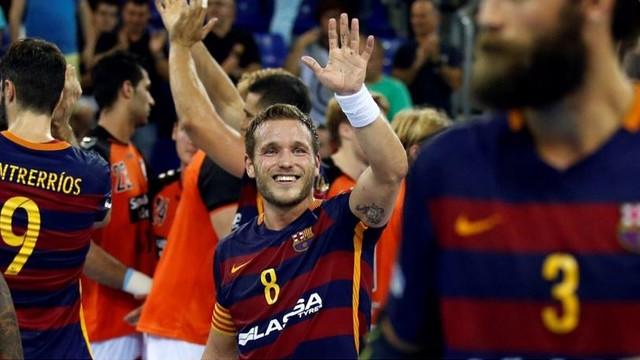 El capità Victor Tomás, en una imatge d'arxiu / FCB