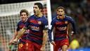 Suárez, Roberto et Neymar / MIGUEL RUIZ - FCB