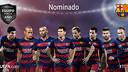 Los ocho jugadores del Barça nominados al #TOTY / UEFA