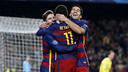 Messi, Neymar i Suárez s'han retrobat amb una altra golejada / MIGUEL RUIZ - FCB