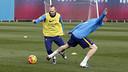Iniesta, à l'entraînement / MIGUEL RUIZ-FCB