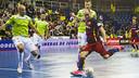 Wilde en el partit davant Palma Futsal / VICTOR SALGADO - FCB