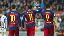 Un trio inarrêtable / VÍCTOR SALGADO - FCB